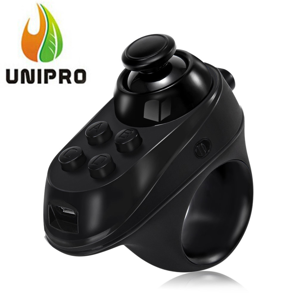 Cheap R1 Bluetooth 4.0 Wireless Gamepad VR Remote Mini Game Controller Joystick for IOS Android
