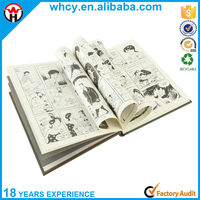 China Manufacturer Custom Cheap High Quality Hardcover Comic Book/ Comic Hardcover Book Printing