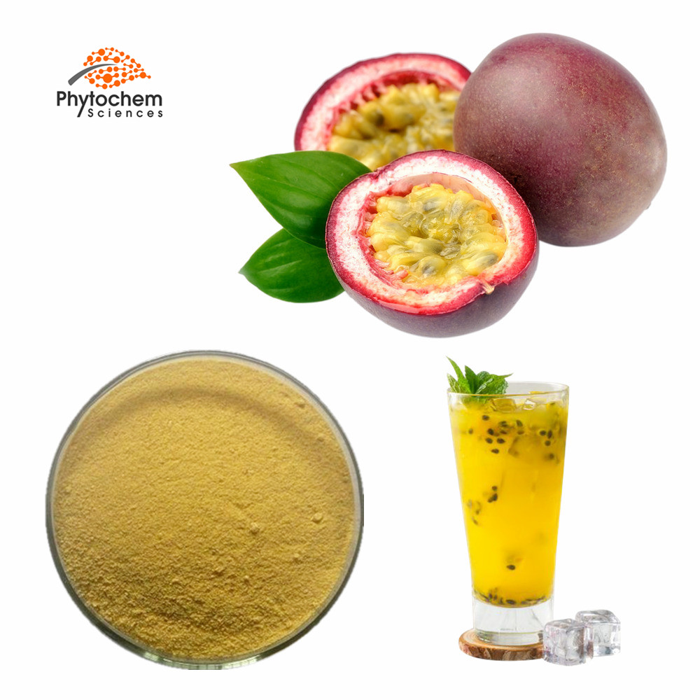 Private label nutrizione puro gustoso organico concentrato di succo di purea di pasta di passione di frutta in polvere