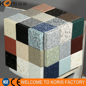 China Manufacturer Seamless Faux Stone Panels Modified Solid Surface For Sale
