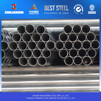 BS1387-85 galvanized steel pipe thread end and socket