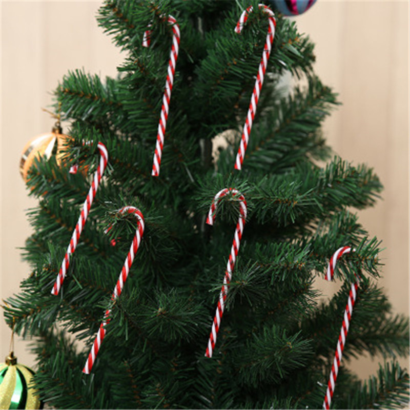 Christmas Decoration Outdoor Plastic Candy Cane Mall Window Scene Decorations