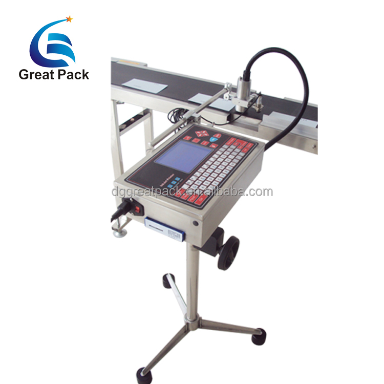 Product expiry date ink-jet printing machine