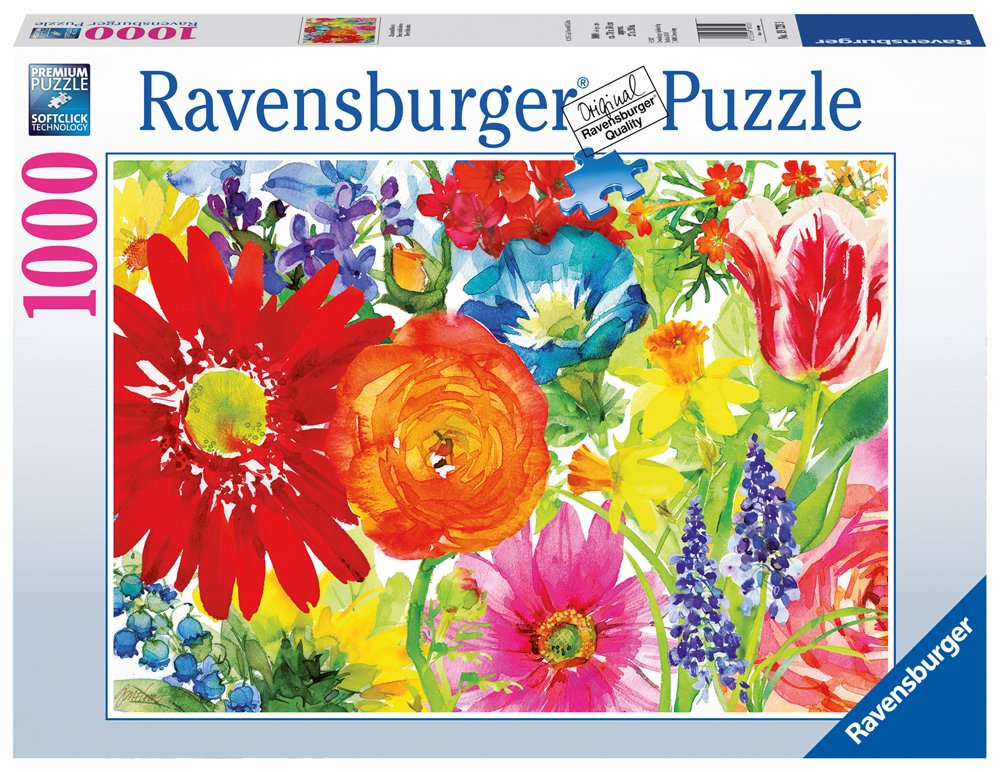 Ravensburger -Abundant Blooms - 1000 pc Puzzle