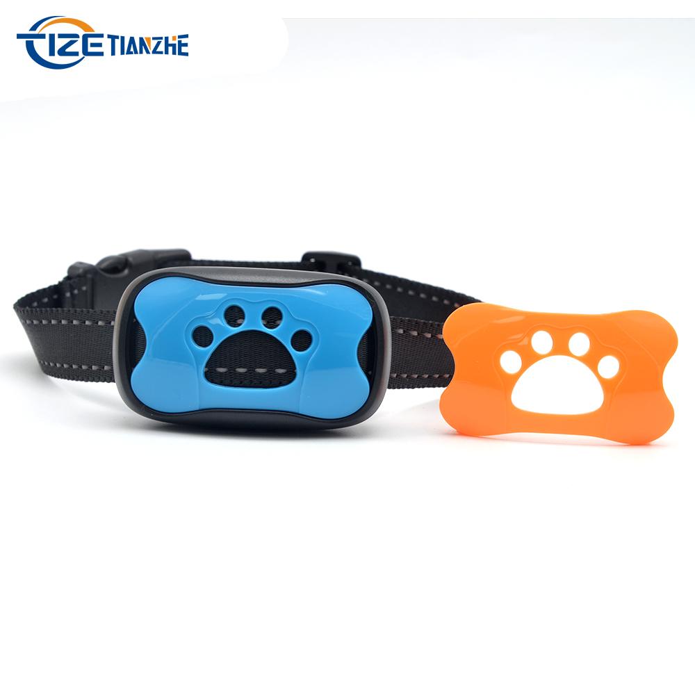 Non Rechargeable Beep Vibration No Shock Dog Bark Collar