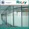 ROCKY factory sell 2mm-19mm tempered glass office door high quality tempered glass door