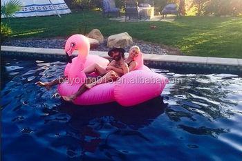 Custom Pvc Giant Inflatable Flamingo Pool Float For Sale/giant Inflatable  Pool Float Flamingo