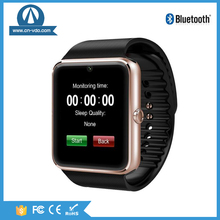 Smart Watch GT08 Smartwatch Bluetooth Wristwatch for ios Android and cell Phone watches with Camera SIM