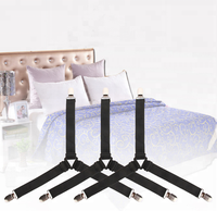4pcs Adjustable Triangle Bed Sheet Fastener