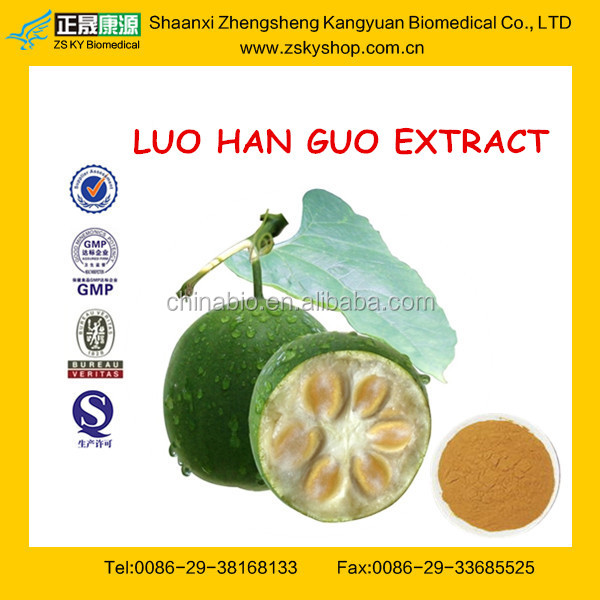 Top quality LUO HAN GUO EXTRACT / MONK FRUIT EXTRACT POWDER