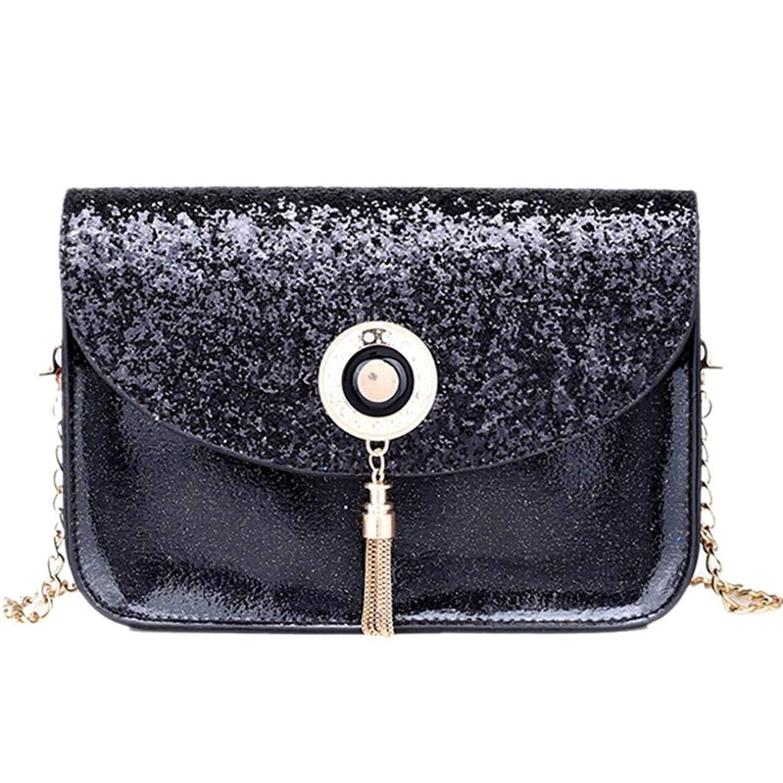 Shoulder Bag Shopping Bag Women Fashion Sequins Handbag Tote Purse Schoolbag Faionny