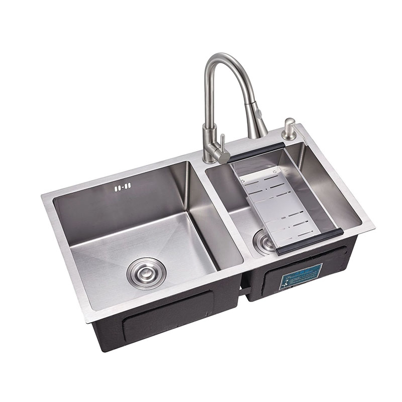 Super Custom Size Smooth Brushed Surface Philippines Handmade Double Bowl Stainless Steel Kitchen Sink With Competitive Prices 558 Buy Double Bowl Download Free Architecture Designs Salvmadebymaigaardcom
