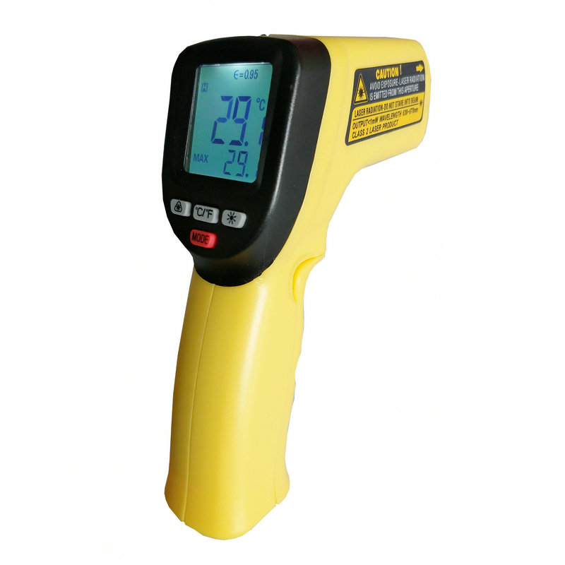 Temperature Alarm Function Industrial Infrared Thermometer - KingCare | KingCare.net