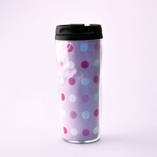 2016 double wall plastic cup of coffee/coffee cup to go/coffee mug thermal cup