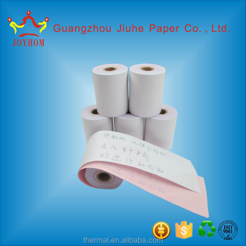 Street price stocklot paper in China carbonless paper roll with high quality