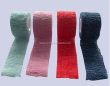 Flexible Printed Colored Hand Tear Cohesive Bandage Non Woven