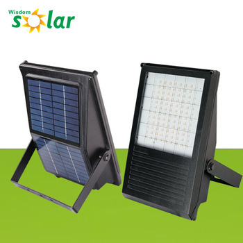 7W solar power system Led Solar Flood Light Rechargeable made in China  (JR-PB001