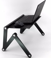 JLT New Design Aluminum Powder Coating Portable Laptop Desk