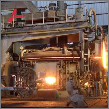 60 ton electric arc furnace eaf melting furnace muffle furnace