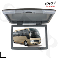 22'' Motorized Bus Coach Roof Mount Car LCD Monitor with USB, HD function