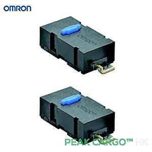 Buy Pack of 2 Omron Micro switches Angle Terminal SPST 0 6N