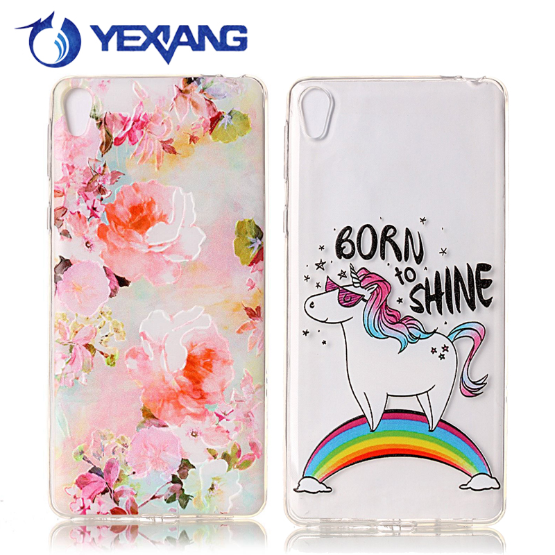 wholesale alibaba embossed custom printing tpu case for sony xperia l1 back cover