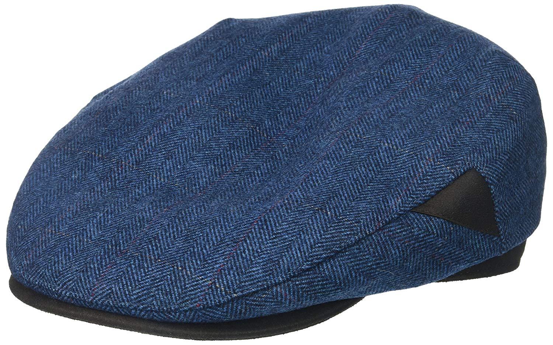 096455ae32d Get Quotations · Henschel Men s 100% Italian Wool Herrringbone Plaid Ivy Hat