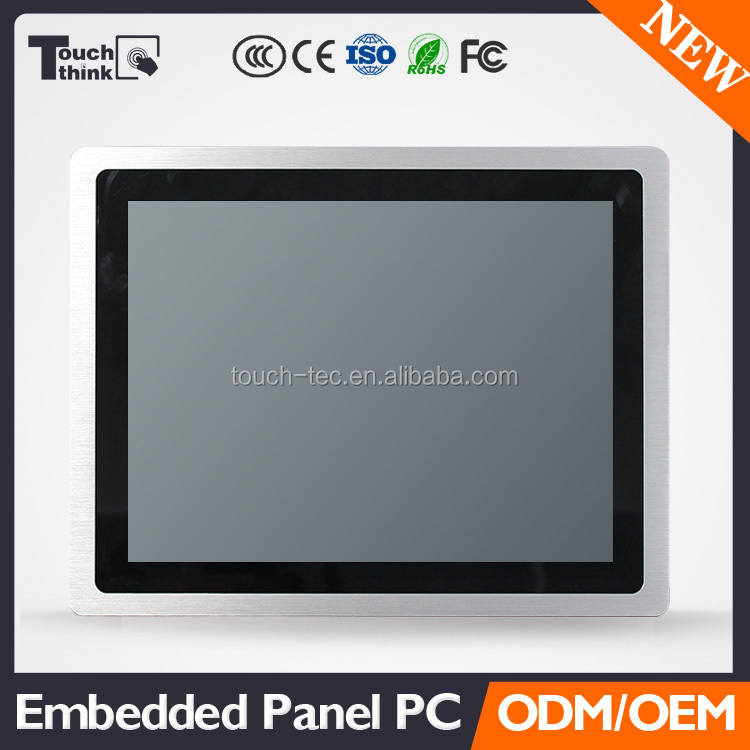 "2018 super low cost new industrial pc cheap 15"" industrial panel pc"