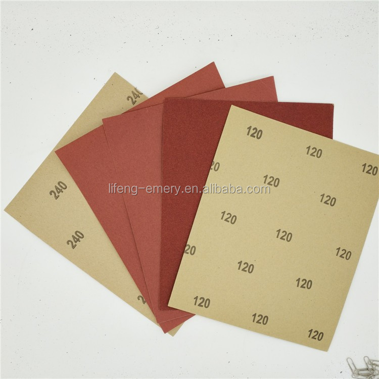Economic diamond sandpaper sheet
