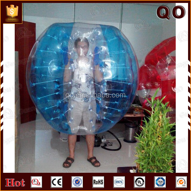 Most popular attractive human sized soccer bubble ball for sale