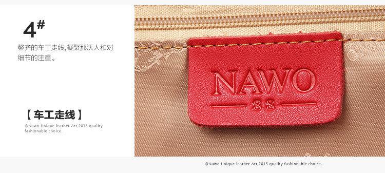 bbbb96170ac2 NAWO 2016 Luxury Handbags Women Bags Designer High Quality Fashion Genuine  Real Leather Shoulder Bag Female Hobos Sac A MainUSD 117.98-119.98 piece