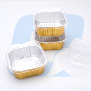 220ml Airline fast food disposable aluminium foil trays