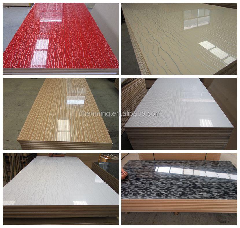 Keuken Plaat Kopen : hoogglans acryl MDF-platen voor keuken decoratie-keukenmeubelen