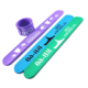 2019 silicone slap wristband customized printed logo newest fashion suitable for child activity meeting