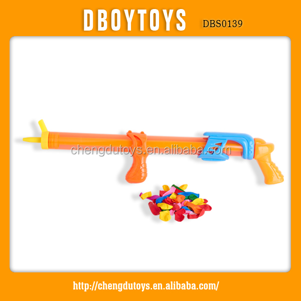 Funny set toy plastic water ball gun with 40 pcs balloons