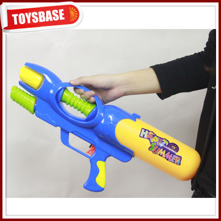 Single nozzle air pressure bubble shooter water gun