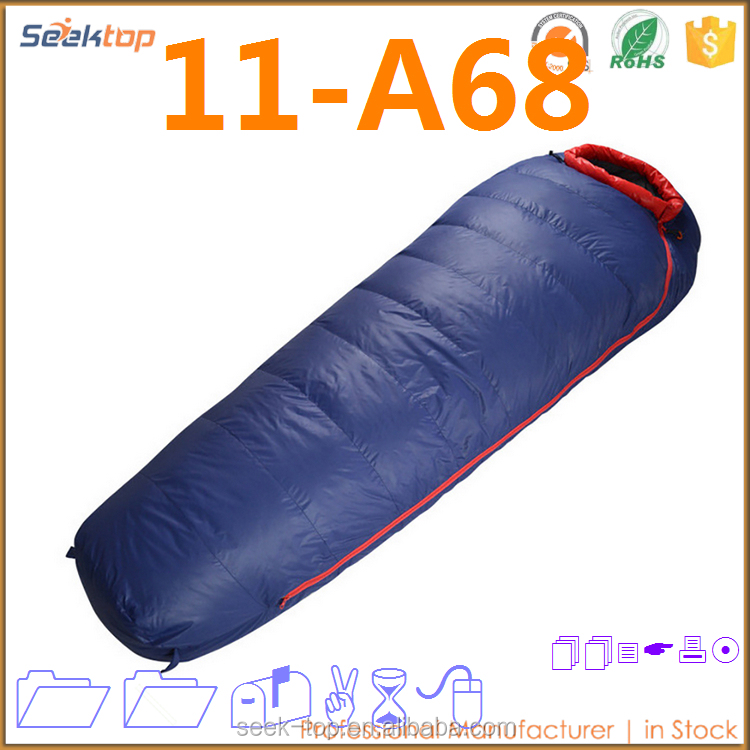 New Interesting Products Multi Season Sleep Colored Traveler Down Sleeping Bag Mummy