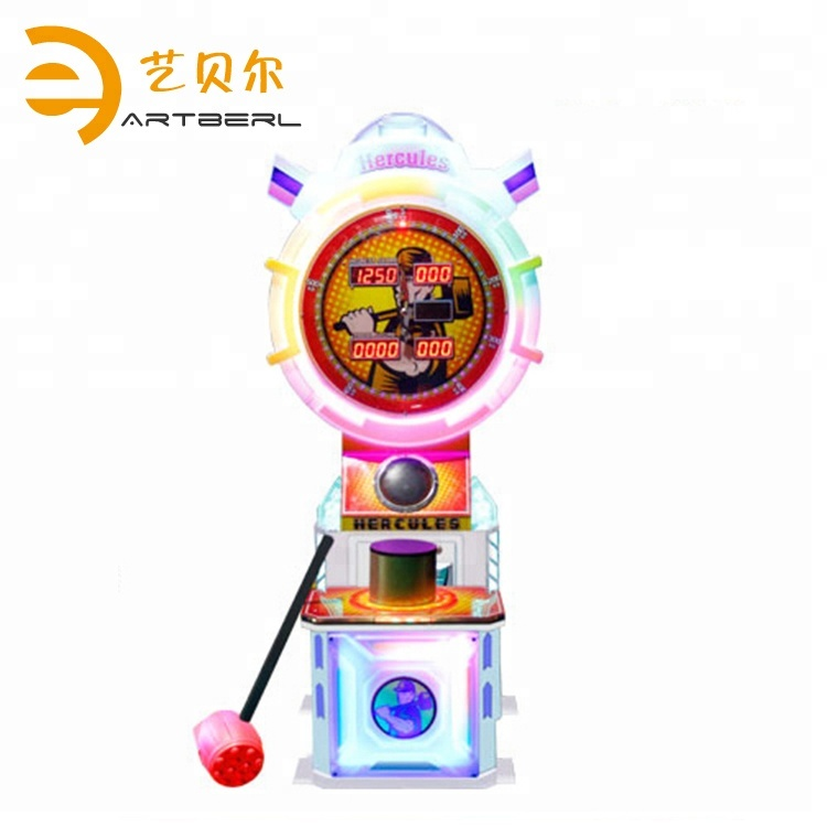 Factory price hit coin operated indoor redemption manual hammer arcade game machine