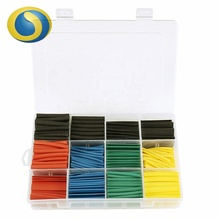 280PCS Assorted Kit DIY para a Tubulação Do Psiquiatra de Calor Sleeving