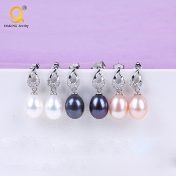 925 Silver jewelry earring made in china factory