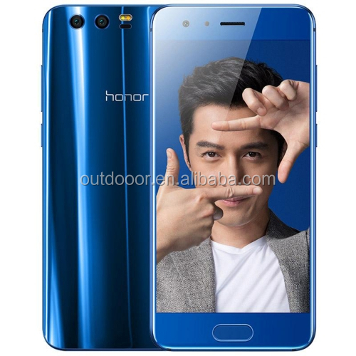 Original dropshipping Camera 20 MP 12 MP Huawei Honor 9 STF-AL00, 4GB+64GB 3200mAh