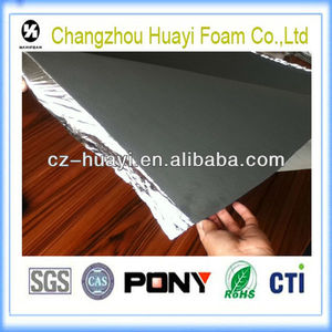 high density self-adhesive laminate flooring eva foam underlayment