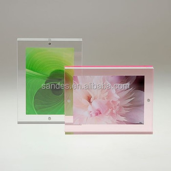 Clear Plastic Magnet Lucite 6x9 Photo Frame - Buy 6x9 Photo Frame,9x6 Photo  Frame,Partition Photo Frames Product on Alibaba com