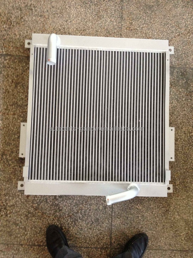 HEAVY DUTY CONSTRUCTION MACHINERY RADIATOR FOR CAT 320B ALUMINUM COOPER MATERIAL