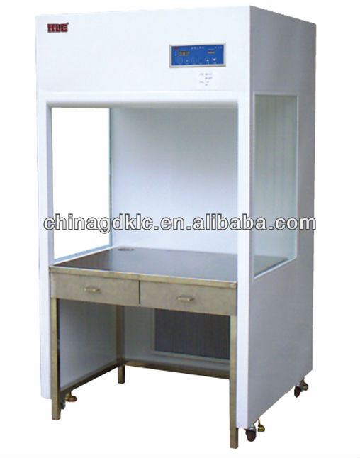 Vertical Laminar flow Hood table separate with bench