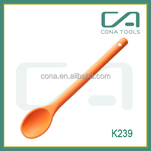 Silicone mixing spoon salad cake baking utensil putty spatula non-stick backware spoon