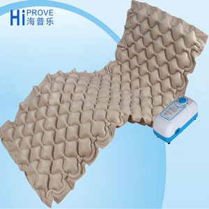 Inflatable bubble anti decubitus air mattress
