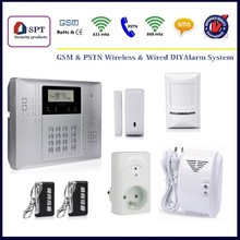 CP-21A home alarms gsm pstn, house security systems