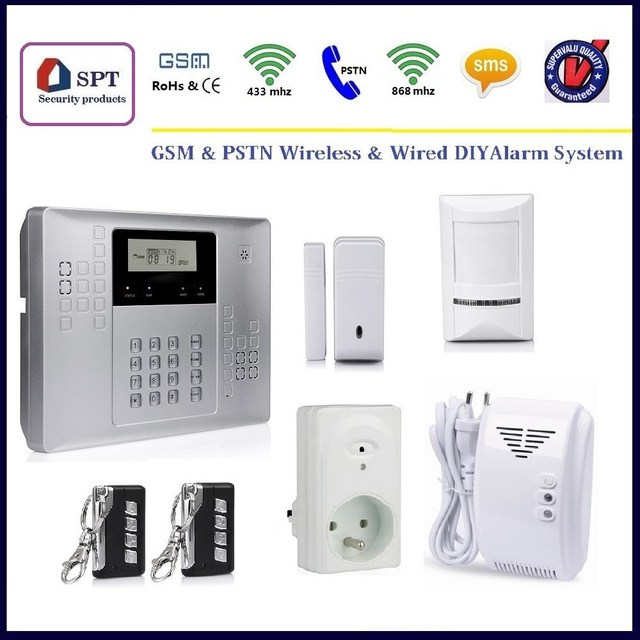 CP 21A Home Alarms Gsm Pstn, House Security Systems