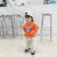 Q2-baby Casual Cotton Kids Pullover Baby Long Sleeve Sweatshirt Without Hood